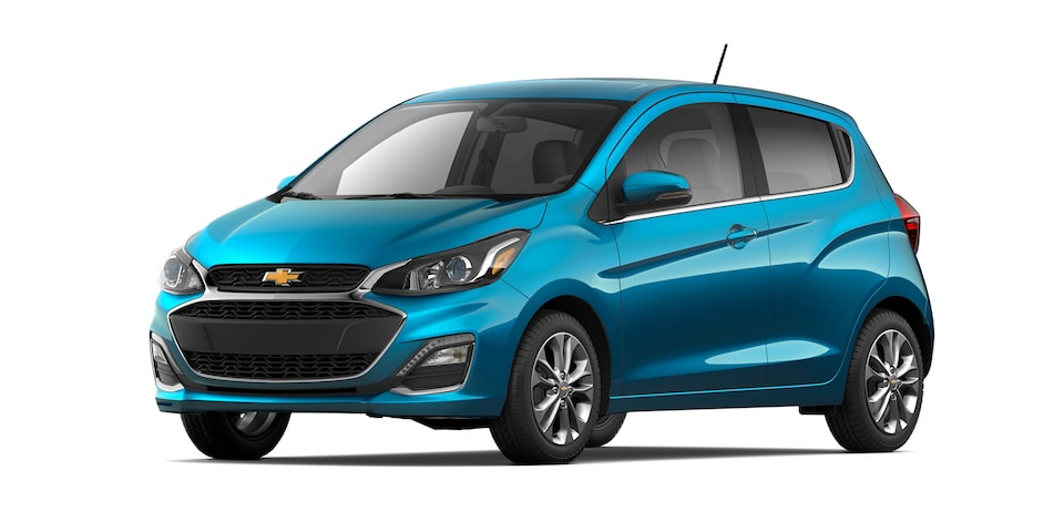 Chevrolet Spark 2021 color Azul Caribe